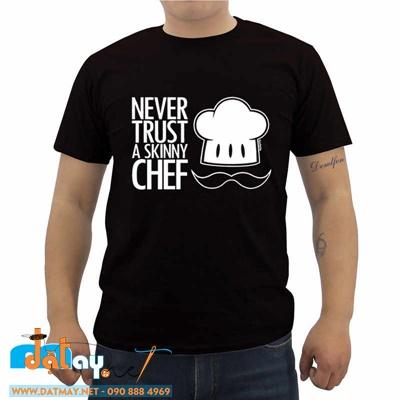 áo thun đồng phục đầu bếp