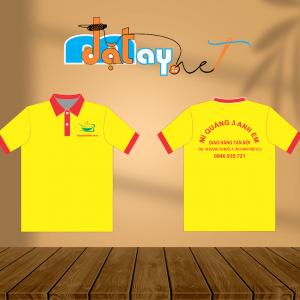 Áo thun đồng phục tiệm Mỳ Quảng Ba Anh Em