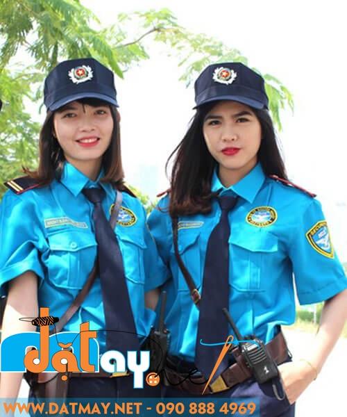 may áo đồng phục bảo vệ giá rẻ