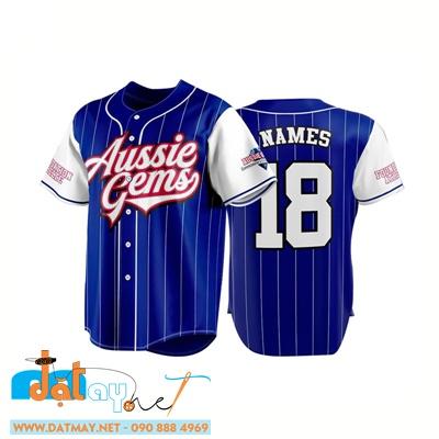 áo đồng phục bóng chày