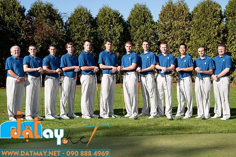 may áo đồng phục chơi golf