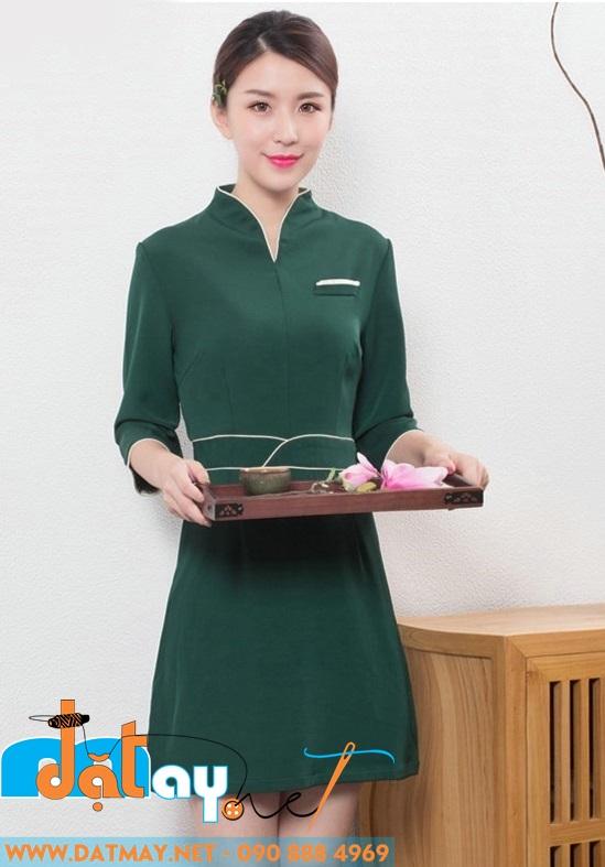 đồng phục lễ tân nhà hàng