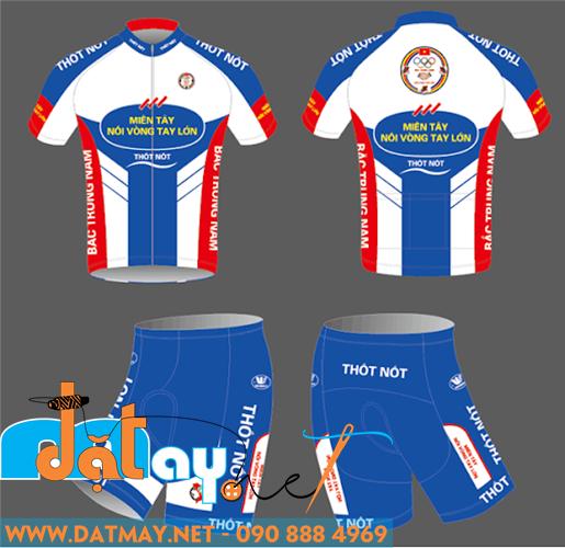 thiết kế đồng phục đua xe đạp đẹp