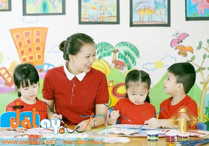 may đồng phục trẻ em mầm non cao cấp