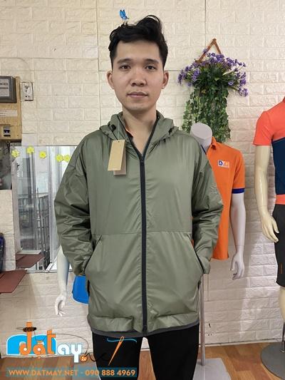 May đồng phục áo khoác gió cho công ty